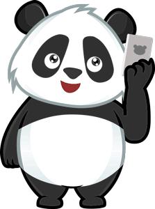 телефон панды