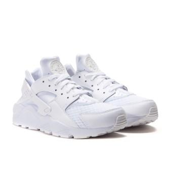 модели белых женских кроссовок Nike Air Huarache All White