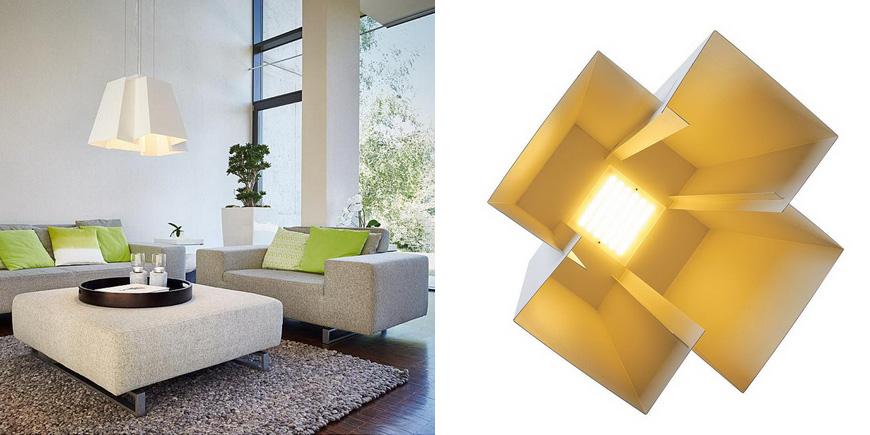 Особого упоминания достойна люстра Soberbia, разработанная Йоханом Карапнером. Для производства модели используется высококачественная сталь.  Светильник оснащен LED-источником. Люстра способна не просто приносить пользу, проявляющуюся в освещении, но и задавать тон интерьеру. При этом люстра создает природный, мягкий и несколько даже приглушенный свет, что в рамках энергосбережения очень важно.