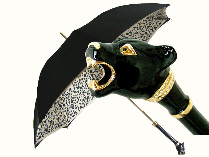 Pasotti пантера зонтик Swarovski