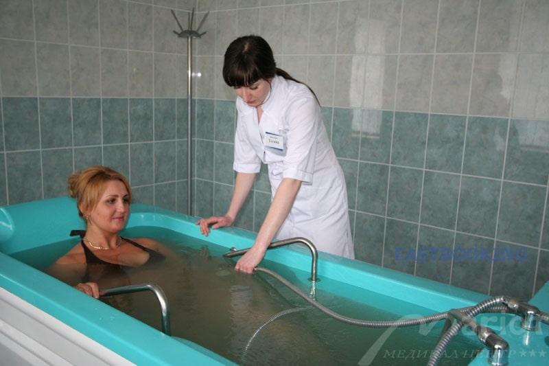 Подводный душевой массаж