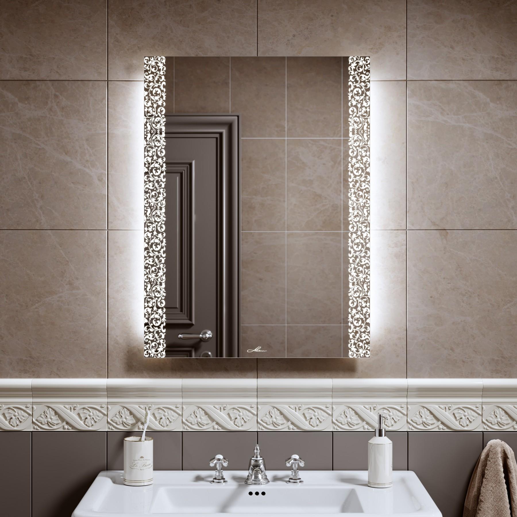 Компактные зеркала в ванную