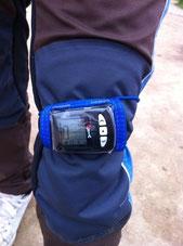 Высотомер Viso 2+ крепление на ногу