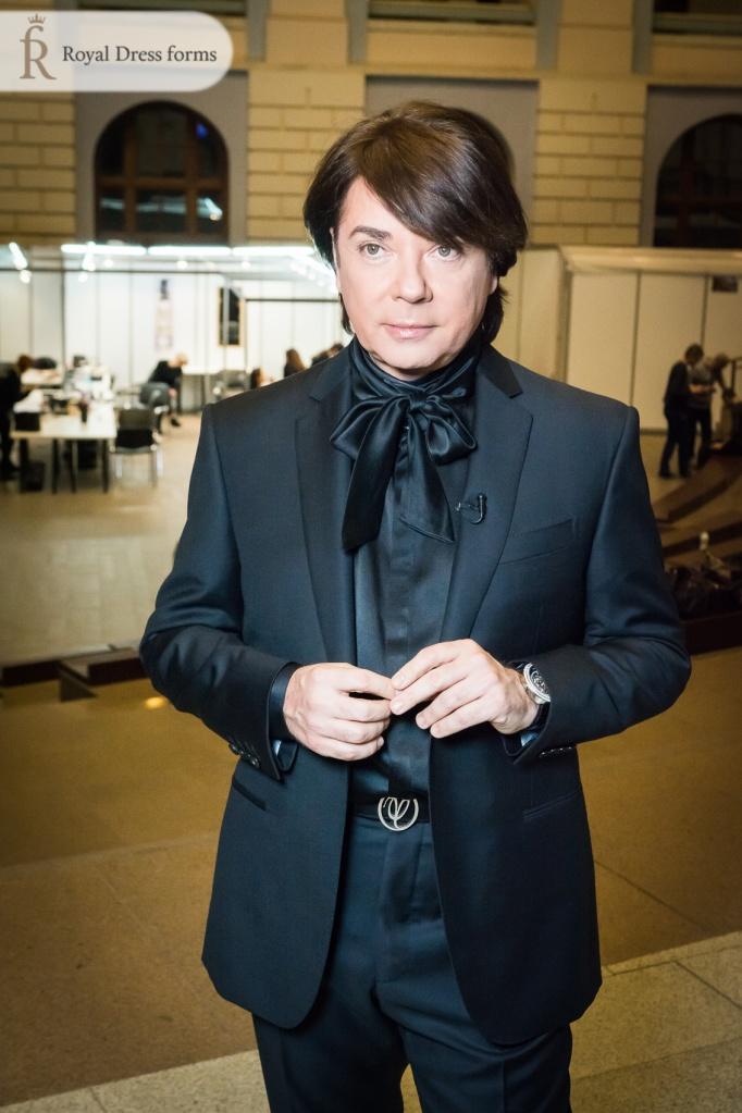 Валентин Юдашкин на Неделе Моды в Москве 2016