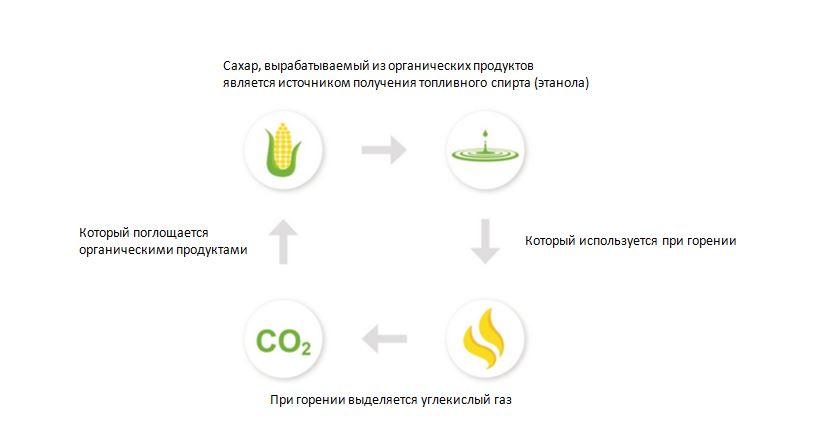 Экологически чистый продукт, биотопливо.