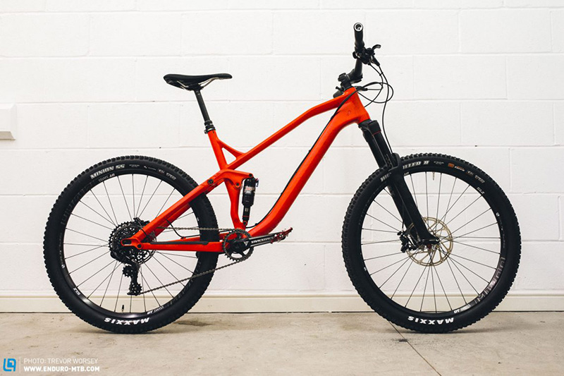 Правильно собранный велосипед