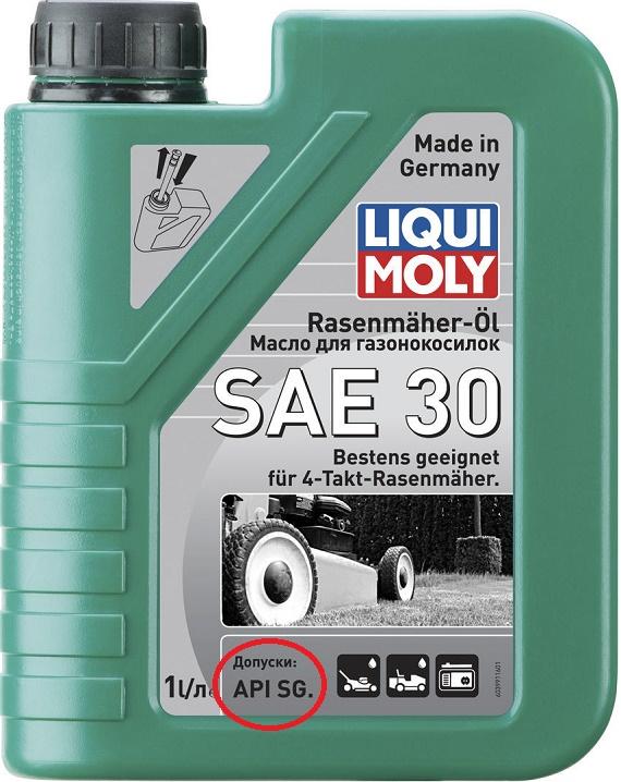 Минералка для моноблока SAE 30