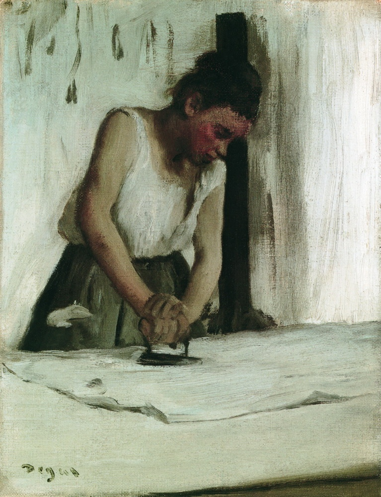 Edgar-Degas-The-Laundress