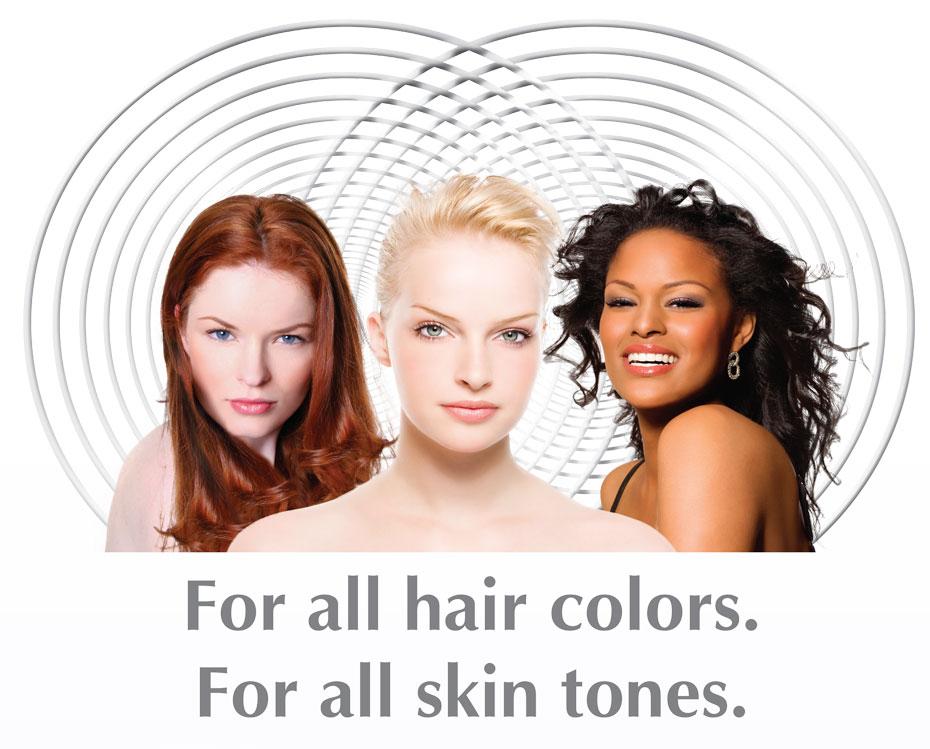 Эпилятор для любых волос и любого типа кожи!