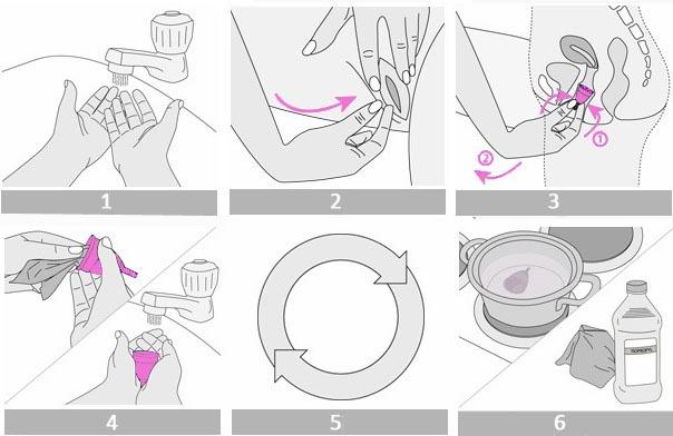 Инструкция как извлекать менструальную чашу (кап)