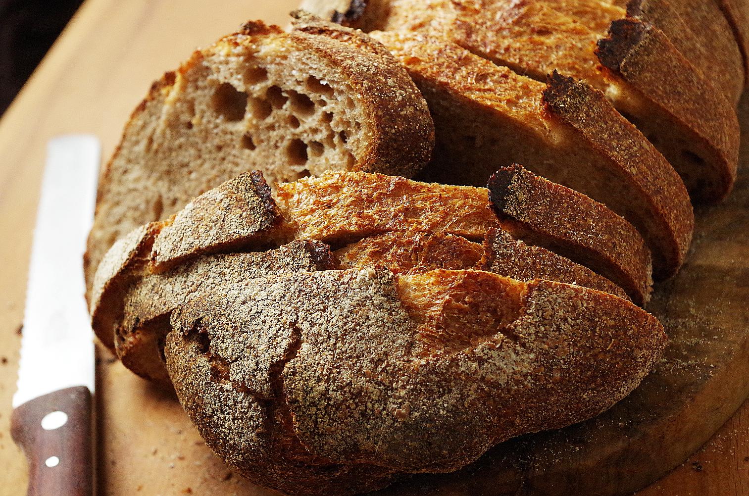 хлеб - разрез