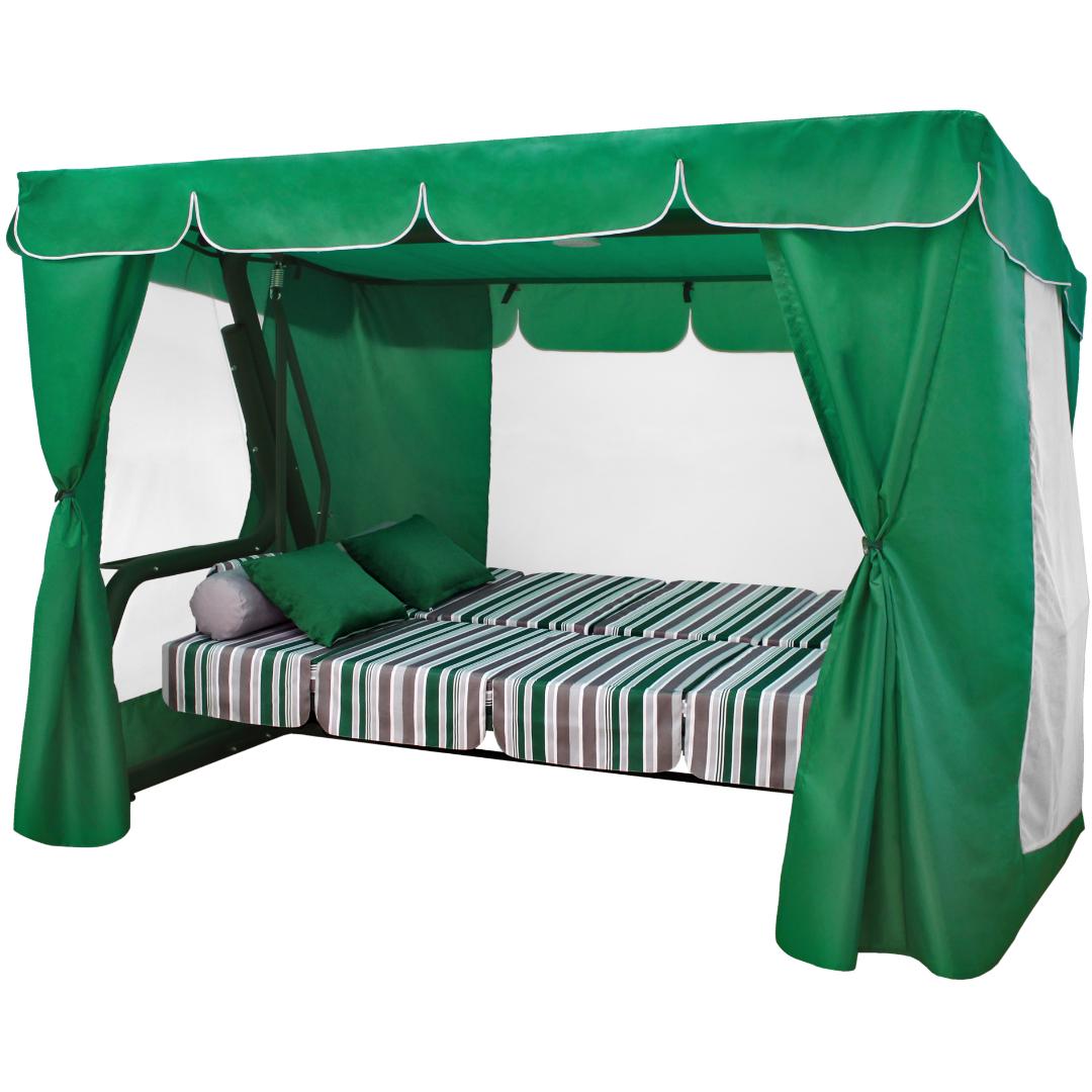 Эдем Премиум зеленый кровать