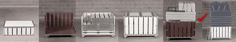 Внешний вид упаковки набора мебели bxl