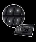 Обработанные лазером клавиши
