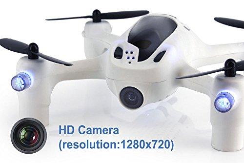 Встроенная камера HD 720p с функцией FPV - Мини-квадрокоптер Hubsan H107D+ Plus