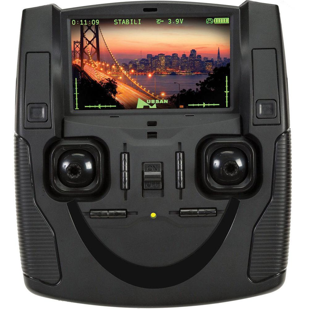 Мониторинг полётов в режиме FPV - Мини-квадрокоптер Hubsan H107D+ Plus