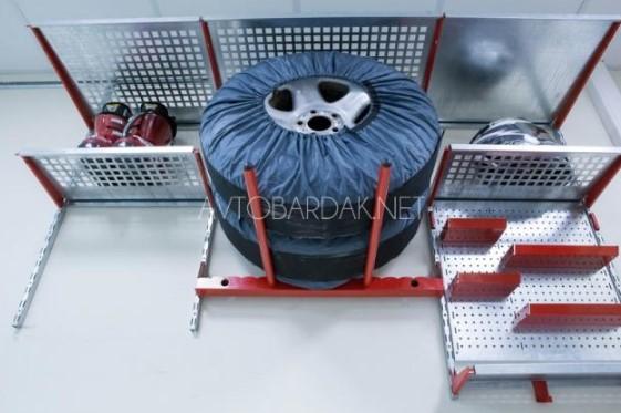 блок для хранения колес