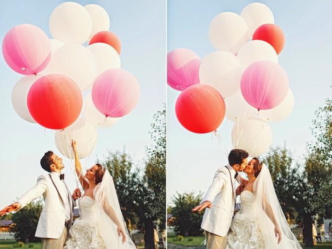 Шарики для оформления свадьбы