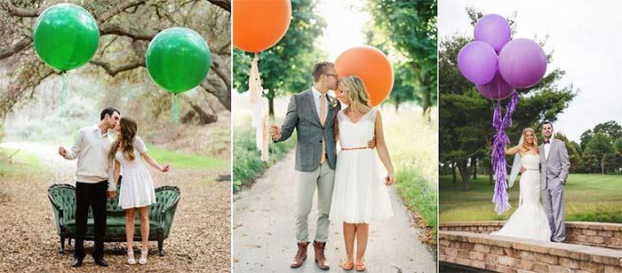 Воздушные шарики для вадьбы