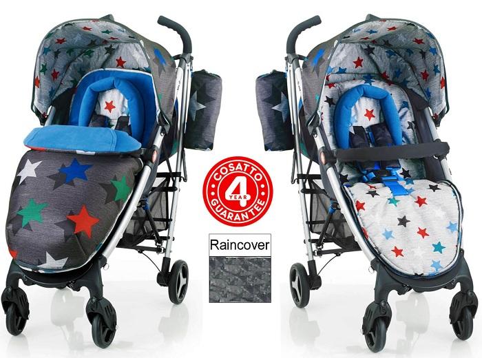 Прогулочная коляска Cosatto Yo! 2 Grey Megastar с доставкой в интернет-магазине Мама Любит!