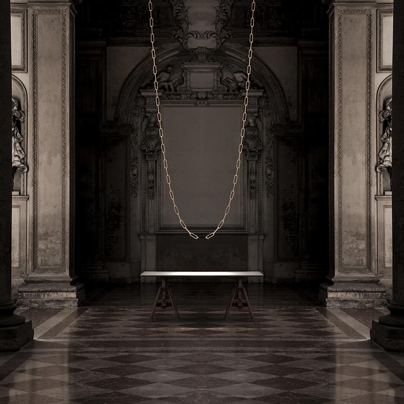 Светильник ChainDelier от Davide Groppi