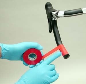 Обмотка дропов керма ізолентою перед накладенням обмотки