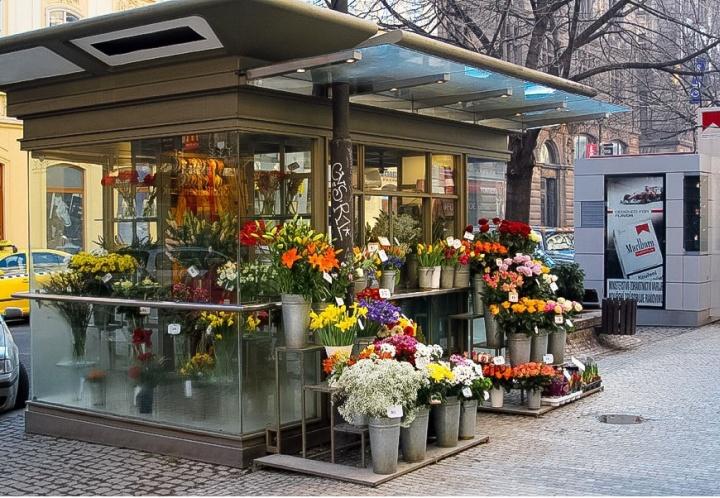 Спрос на цветы ограничен, поэтому конкурировать в этой сфере сложно