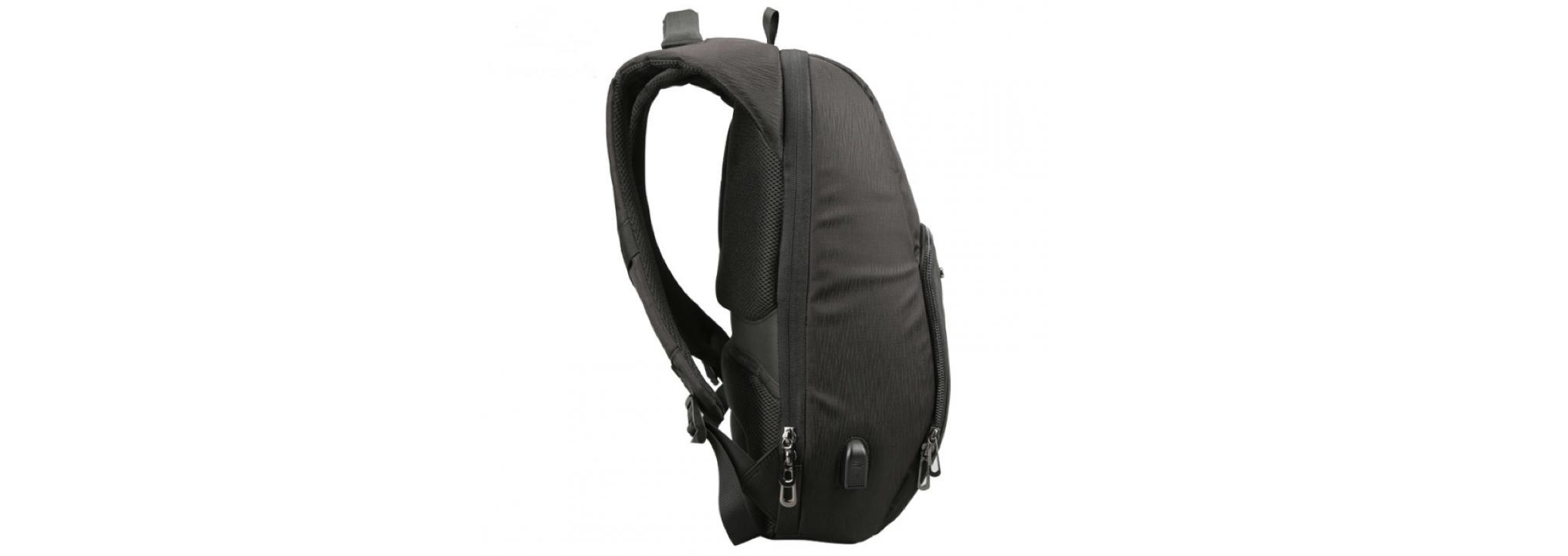 b8560006a3b2 15-дюймовый компьютер уверенно себя чувствует в специальном защищённом  отделении, а сам рюкзак может похвастаться эффектным сдержанным ...