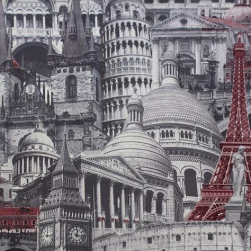 Architecture red-grey микровелюр 1 категория