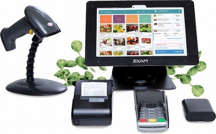 К онлайн-кассами подключается оборудование для автоматизации торговли