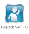Includes Logitech Vid™ HD