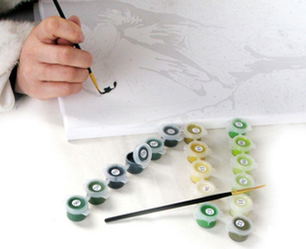 инструкция как рисовать картину по номерам - фото 11