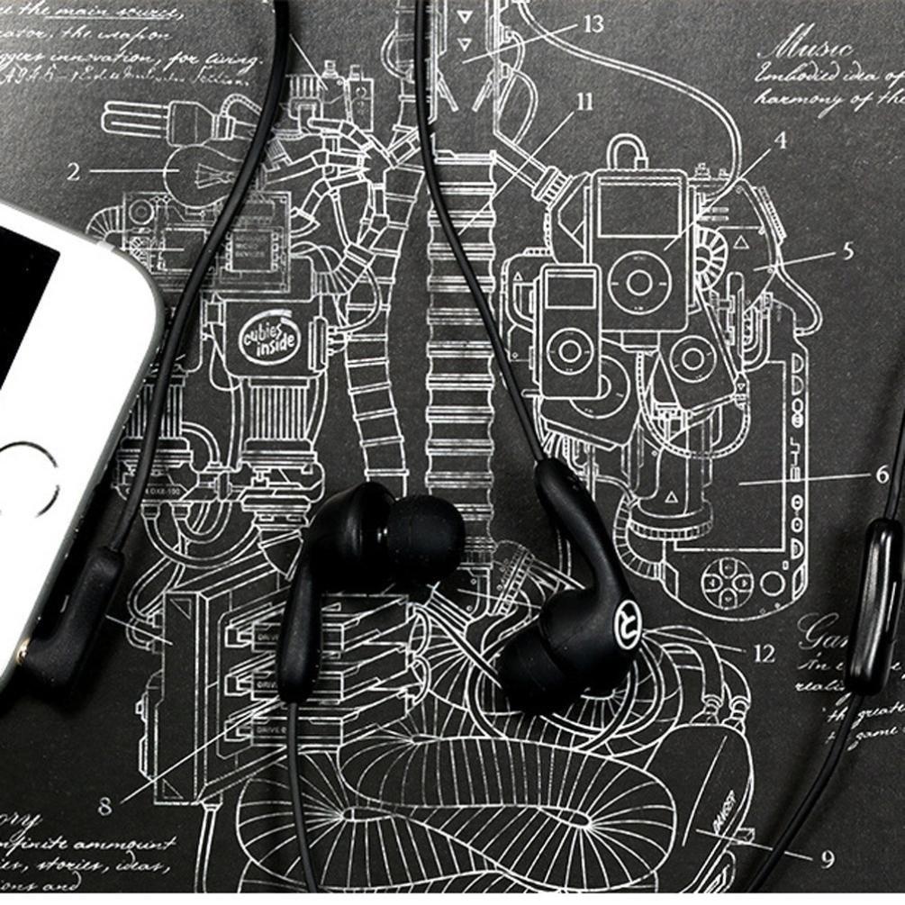 Наушники с микрофоном Remax RM-505 Black