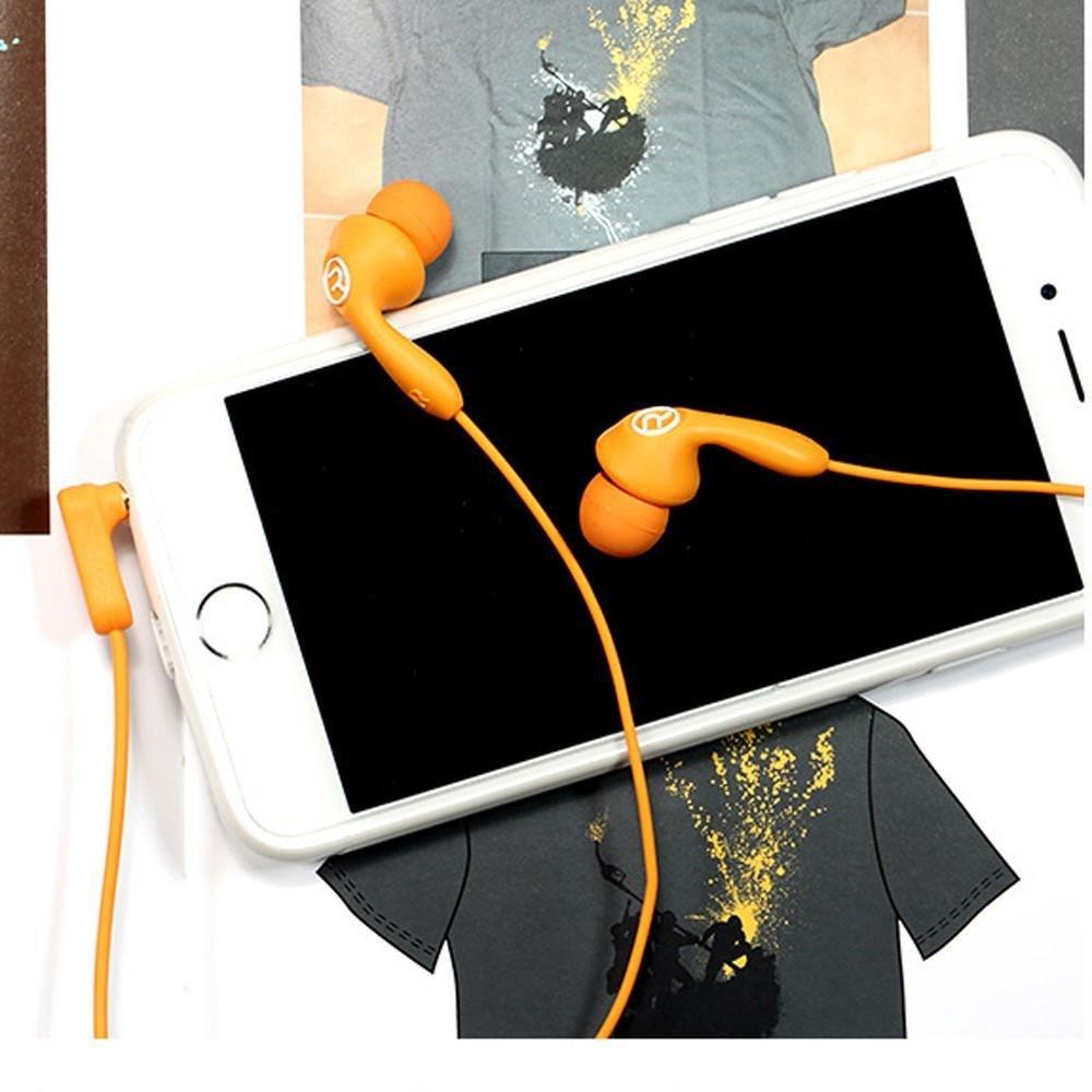Наушники с микрофоном Remax RM-505 Orange