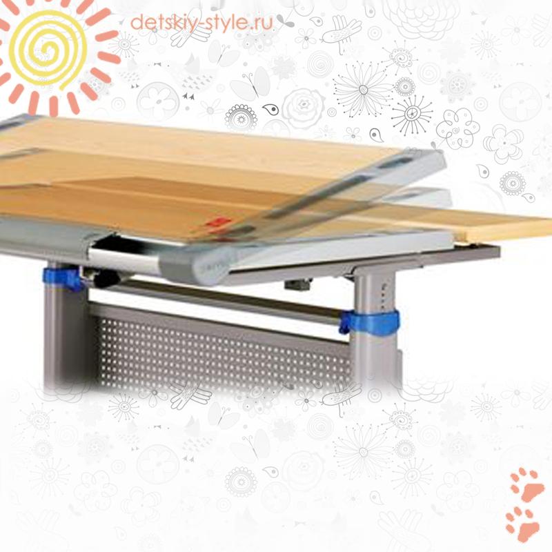 детский стол парта comf-pro miki 2, купить, заказать, цена, парта трансформер miki 2, школьный стол комф-про, заказ, заказать, стоимость, отзывы, бесплатная доставка по москве, официальный дилер, интернет магазин, detskiy-style.ru
