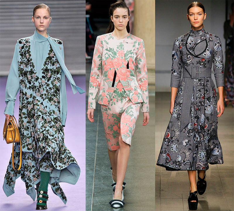 Модный цветочный стиль