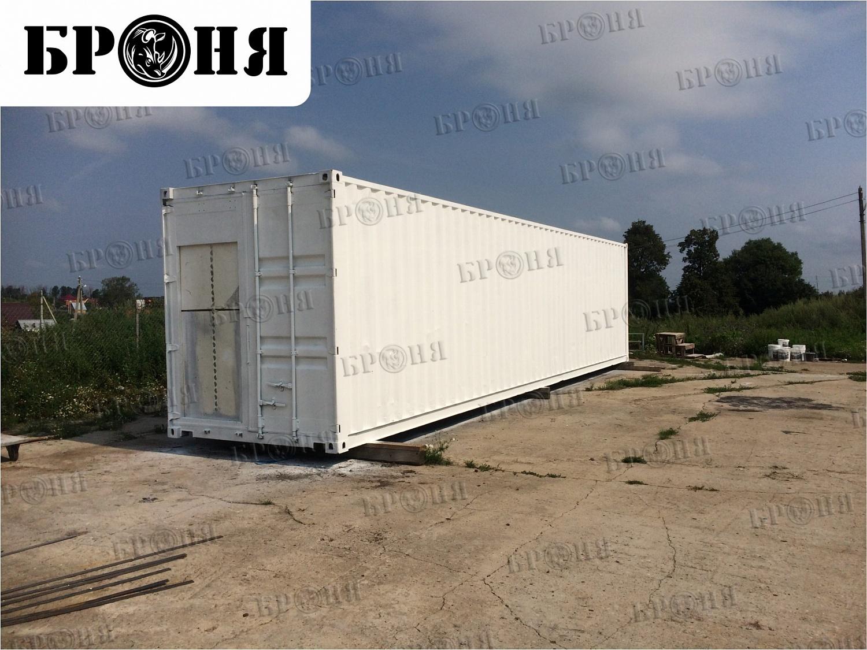 Московская область. Утепление модуля перепелиной фермы, выполненного из 40-футового контейнера