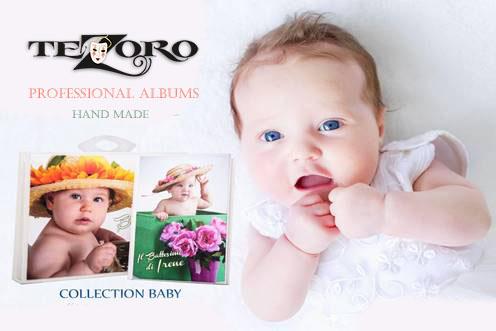 детские фотоальбомы Тезоро
