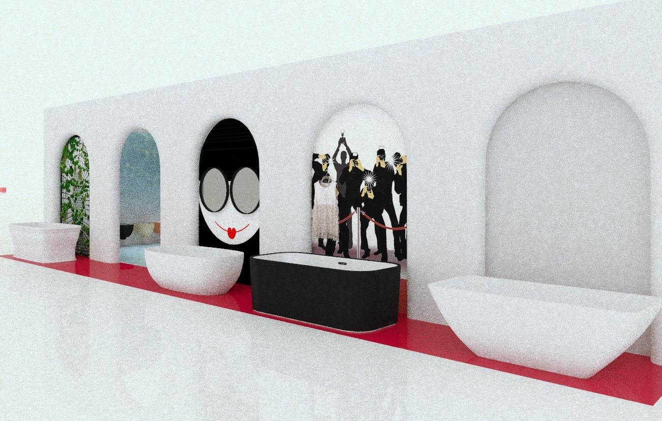 Эскиз выставочного стенда
