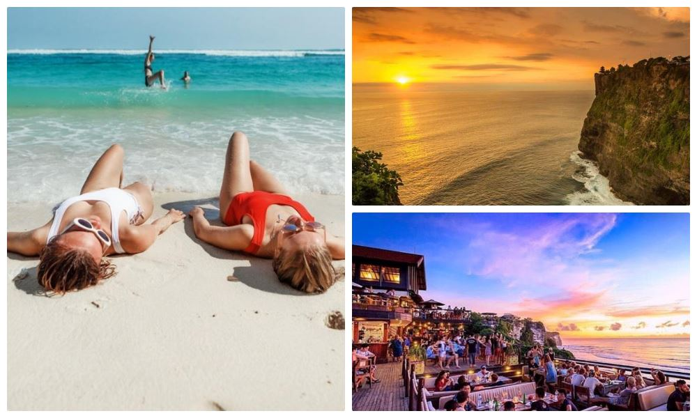 Пляжный день, серф-кемп на Бали