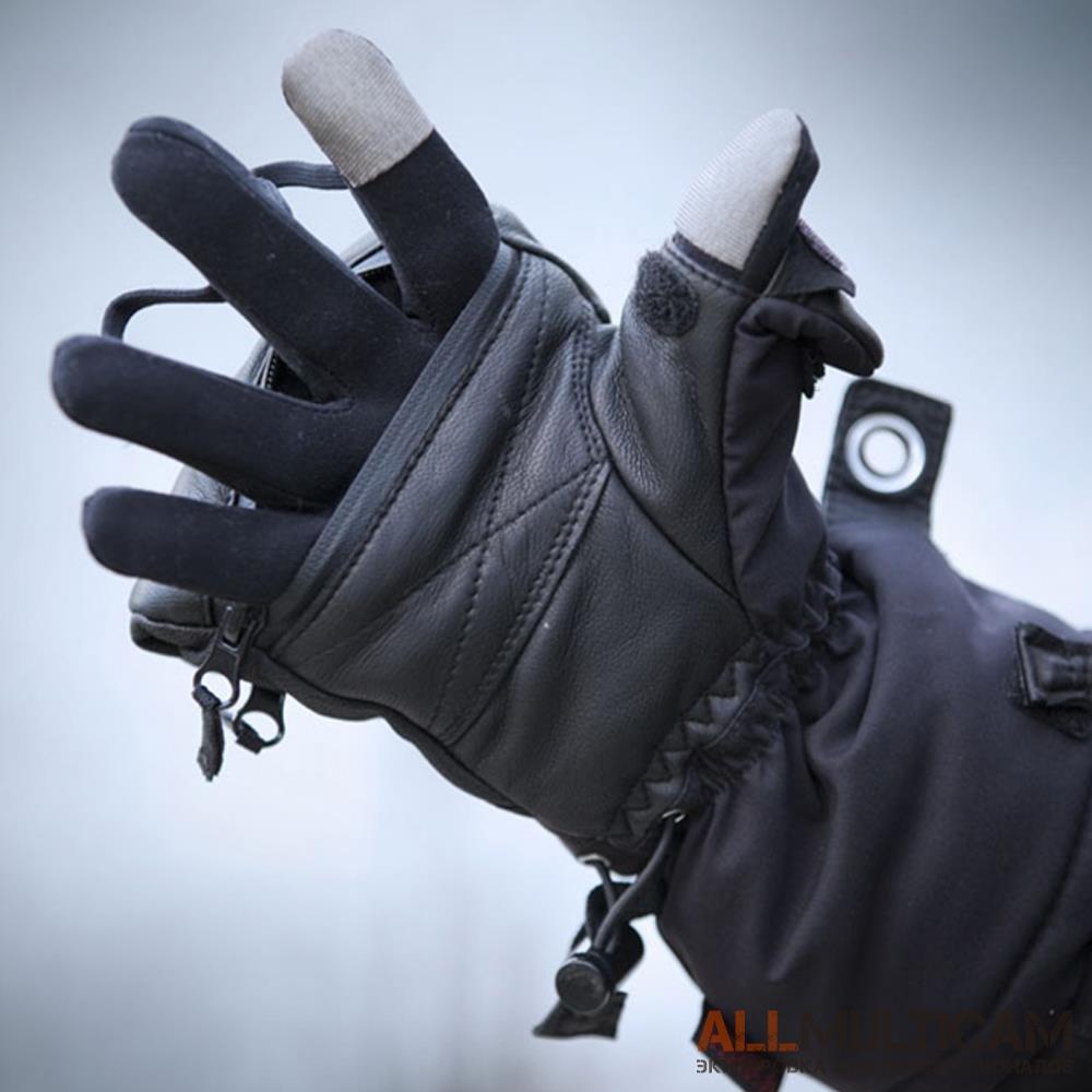 Тактические зимние перчатки-рукавицы Heat 3