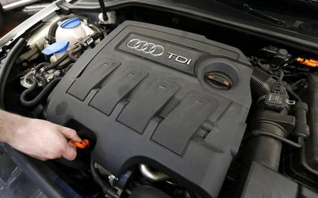 Дизельный мотор АУДИ