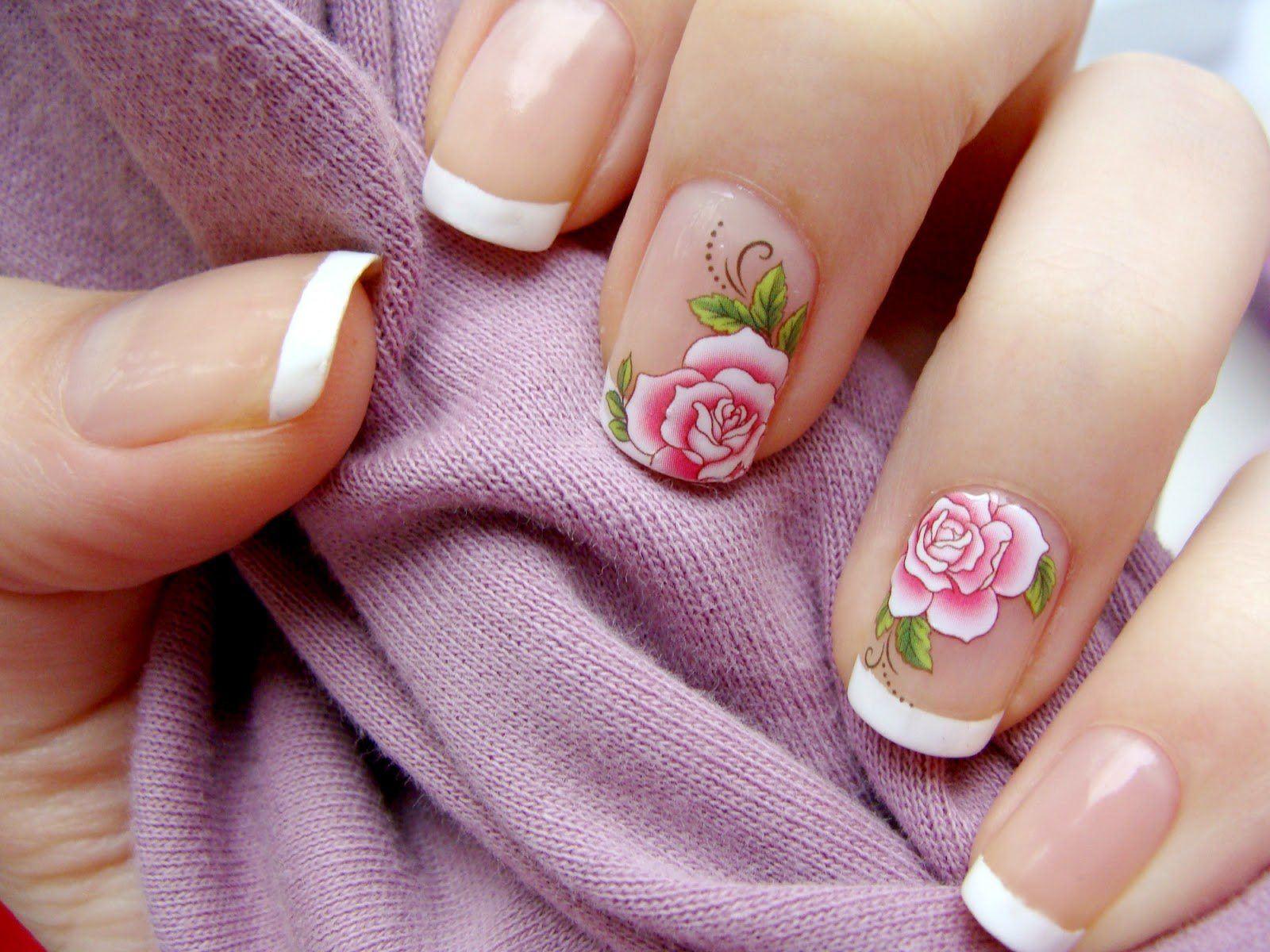 Основные приемы для росписи ногтей