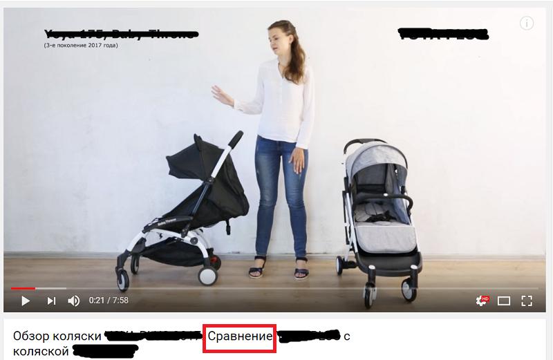 сравнение товаров