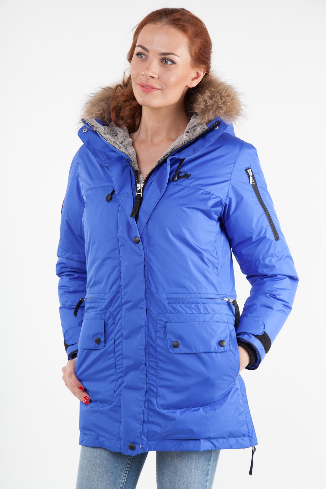 Женская парка Arctic Explorer Blue