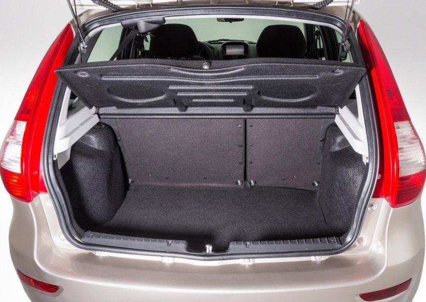 Багажник Ваза в открытом виде