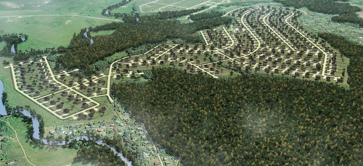 Коттеджный поселок «Усадьба Романово»