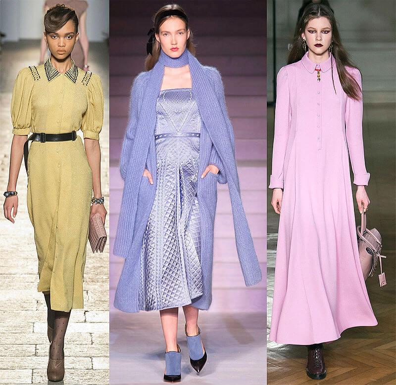 Глубокие и чистые цвета в современной моде
