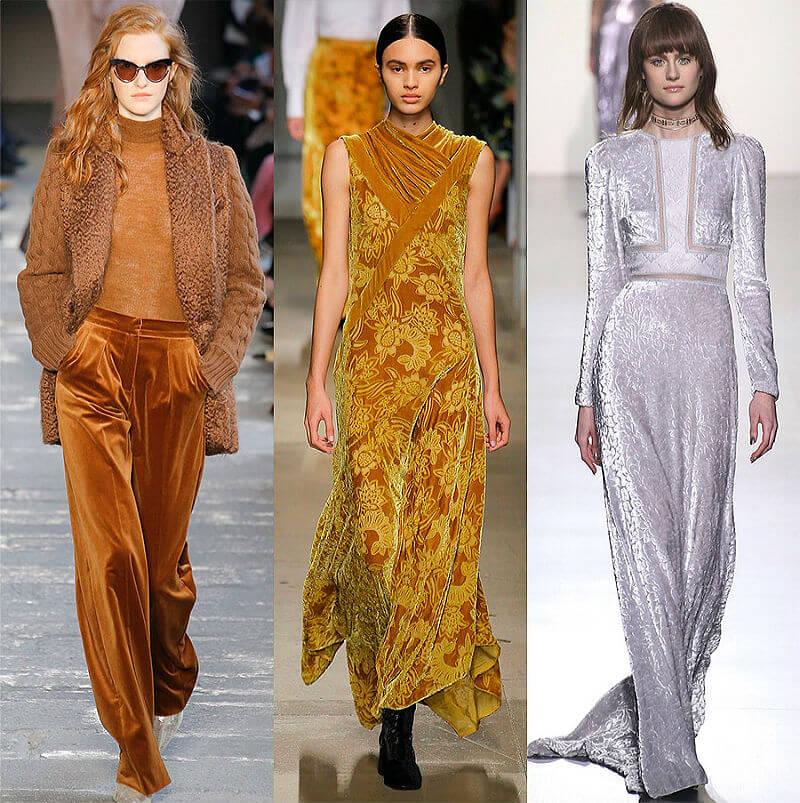Цвет охра, серебро и метал в новых модных тенденциях