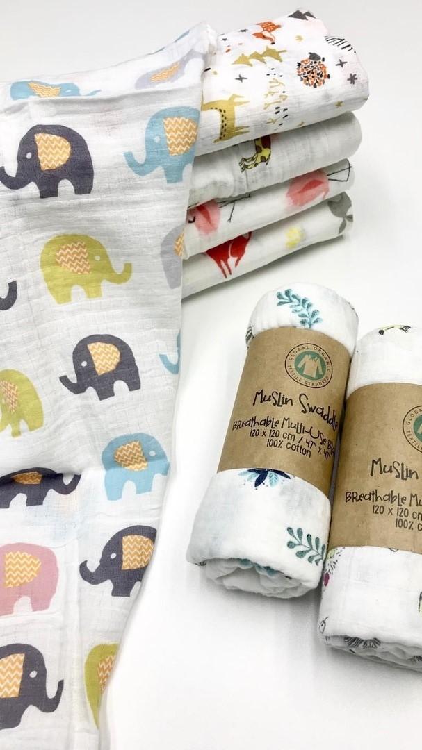 Красивые пеленки для новорожденных